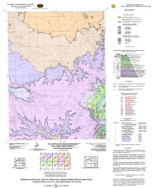 Bedrock Geologic Map of the Black Spring Reservoir Quadrangle, Sweetwater County, Southwestern Wyoming (2007)