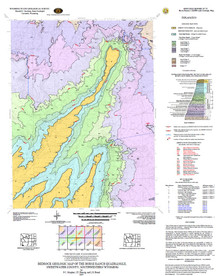 Bedrock Geologic Map of the Horse Ranch Quadrangle, Sweetwater County, Southwestern Wyoming (2007)