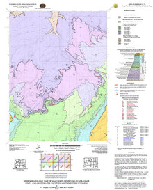 Bedrock Geologic Map of the Soap Holes Reservoir Quadrangle, Uinta and Sweetwater Counties, Southwestern Wyoming (2007)