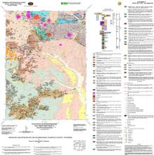 Geologic Map of Barlow Gap Quadrangle, Natrona County, Wyoming (2005)
