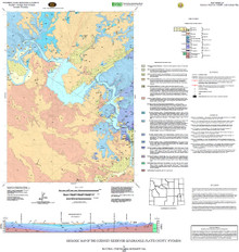 Geologic Map of the Guernsey Reservoir Quadrangle, Platte County, Wyoming (2006)