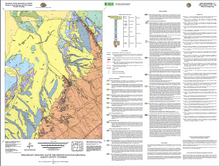 Preliminary Geologic Map of the Johnson Ranch Quadrangle, Albany County, Wyoming (2012)