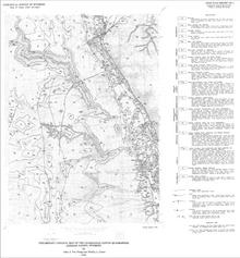 Preliminary Geologic Map of the Packsaddle Canyon Quadrangle, Johnson County, Wyoming (1992)