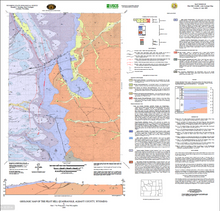 Geologic Map of the Pilot Hill Quadrangle, Albany County, Wyoming (2009)
