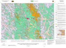 Surficial Geologic Map of the Gillette 30' x 60' Quadrangle, Campbell, Crook, and Weston Counties, Wyoming (2007)