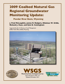 2009 Coalbed Natural Gas Regional Groundwater Monitoring Update: Powder River Basin, Wyoming (2012)