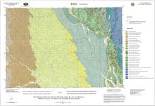 Preliminary Geologic Map of the Newcastle 30' x 60' Quadrangle, Weston County, Wyoming and Western South Dakota (2005)