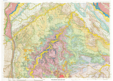 Preliminary Geologic Map of the Devils Tower 30 x 60 Quadrangle, Wyoming, South Dakota, and Montana (2007)