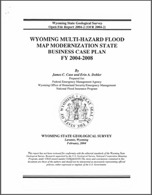 Wyoming Multi-Hazard Flood Map Modernization State Business Case Plan FY 2004–2008 (2004)
