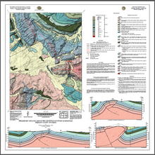 Preliminary Geologic Map of the Schoettlin Mountain Quadrangle, Fremont County, Wyoming (2016)