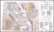 Oil and Gas Map of Wyoming (2007)