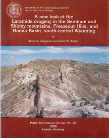A New Look at the Laramide Orogeny in the Seminoe and Shirley Mountains, Freezeout Hills and Hanna Basin, South-Central Wyoming (1996)