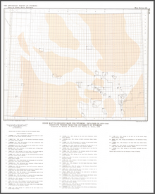 Index Map to Geologic Maps for Wyoming Included in 1928–1949 Graduate Theses from the University of Wyoming  (1986)