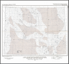 Index of Geological Survey of Wyoming Publications that Contain Geologic Maps Excluding Open File Reports (1989)