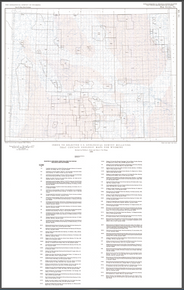 Index to Selected U.S. Geological Survey Bulletins that Contain Geologic Maps for Wyoming (1989)