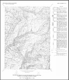 Preliminary Geologic Map of the Monument Hill Quadrangle, Washakie and Johnson Counties, Wyoming (1991)