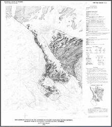 Precambrian Geology of the Seminoe Mountains (Iron-Gold) Mining District, Bradley Peak Quadrangle, Carbon County, Wyoming (1991)
