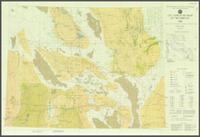 Oil and Gas Map of Wyoming (1980)