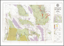Energy Resources Map of Wyoming (1975)