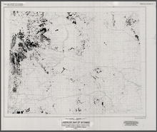 Landslide Map of Wyoming (1991)