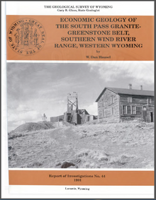 Economic Geology of the South Pass Granite Greenstone Belt, Southern Wind River Range, Wyoming (1991)