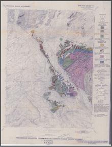 Precambrian Geology of the Seminoe Gold District, Bradley Peak Quadrangle, Carbon County, Wyoming (1989)