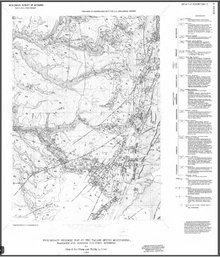 Preliminary Geologic Map of the Tallon Spring Quadrangle, Washakie and Johnson Counties, Wyoming (1989)