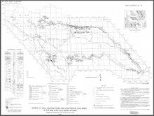 Extent of Coal-Bearing Rocks and Locations of Coal Mines in the Wind River Basin, Wyoming (1986)