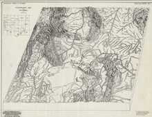 Physiographic Map of Wyoming (1953)