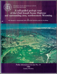 A Self-Guided Geologic Tour of the Chief Joseph Scenic Highway and Surrounding Area, Northwestern Wyoming (1996)