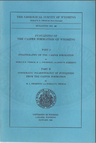Fusulinds of the Casper Formation of Wyoming (1953)