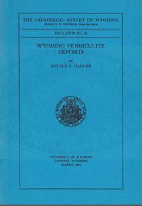Wyoming Vermiculite Deposits (1944)