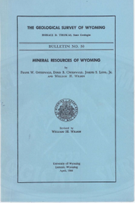 Mineral Resources of Wyoming (1966)