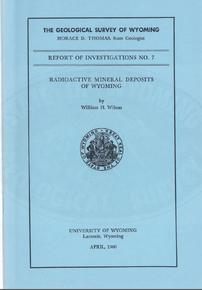 Radioactive Mineral Deposits of Wyoming (1960)