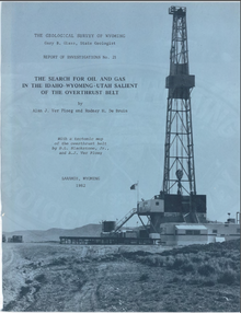 Search for Oil and Gas in the Idaho Wyoming Utah Salient of the Overthrust Belt (1982)