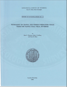 Petrology of Hanna and Ferris Formation Coals from the Hanna Coal Field, Wyoming (1985)