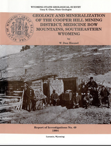 Geology and Mineralization of the Cooper Hill Mining District, Medicine Bow Mountains, Southeastern Wyoming (1994)