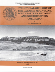 Structural Geology of the Laramie Mountains, Southeastern Wyoming and Northeastern Colorado (1996)