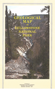 Geological Map of Yellowstone National Park (1989)