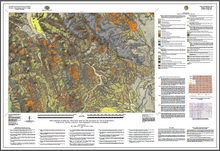 Preliminary Surficial Geologic Map of the Jackson 30 x 60 Quadrangle, Sublette, Teton, Lincoln, and Fremont Counties, Wyoming (2016)
