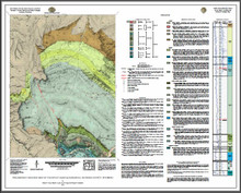 Preliminary Geologic Map of the Ervay Basin Quadrangle, Natrona County, Wyoming (2016)