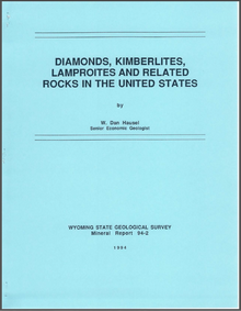 Diamonds, Kimberlites, Lamproites and Related Rocks in the United States (1994)