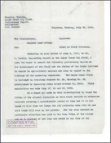 Report on the Lance Creek Oil Field (1919)