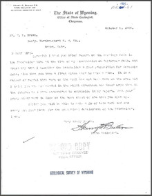 Report on the Batchelder Mine at Dillon, Carbon County, Wyoming (1905)