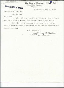 A Brief Report on the Bull Camp Group, Johnson County, Wyoming (1904)