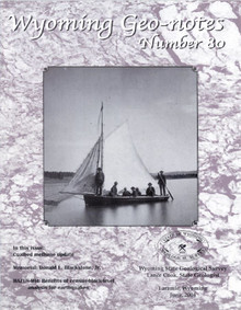 Wyoming Geo-Notes—Number 80 (2004)