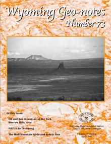 Wyoming Geo-Notes—Number 73 (2002)