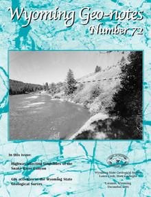 Wyoming Geo-Notes—Number 72 (2001)