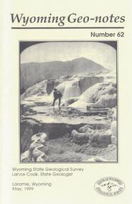 Wyoming Geo-Notes—Number 62 (1999)