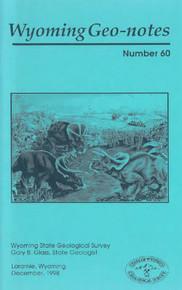Wyoming Geo-Notes—Number 60 (1998)